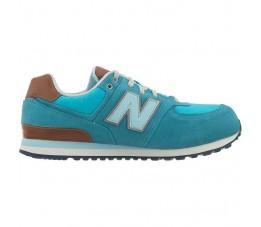 Buty dziecięce New Balance Turkusowe KL574U9G