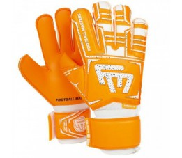 Rękawice bramkarskie FOOTBALL MASTERS TRAINING ORANGE AQUA MIXCUT FR V 3.0