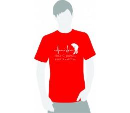 Koszulka medyczna #chce Ci pomóc #niekłammedyka