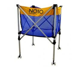 Wózek na piłki NO10 żółto-niebieski VBCC-100B
