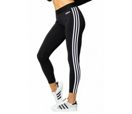 Legginsy damskie adidas Essentials 3 Stripes Tight czarne DP2389
