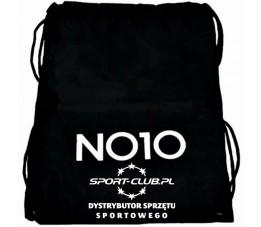 Worek na buty NO10 & SPORT-CLUB.PL 45x36cm czarny
