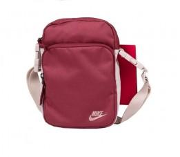 Torebka Nike Heritage Smit 2.0 bordowa BA5898 661