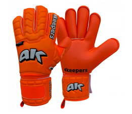 4KEEPERS RĘKAWICE BRAMKARSKIE CHAMP COLOUR ORANGE IV RF