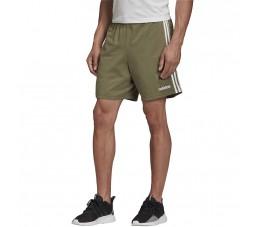 Spodenki męskie adidas Essentials 3 Stripes Short SJ zielone FM6220