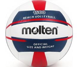 Piłka siatkowa Molten plażowa biało-granatowo-czerwona V5B1500-WN