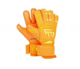 Rękawice bramkarskie FOOTBALL MASTERS CLIMA ORANGE CONTACT GRIP RF V 3.0