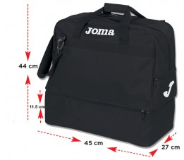 Torba Joma Traning III Black Medium
