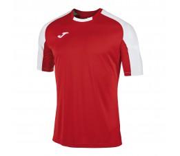 Koszulka Joma Essential Czerwono Biała 101105.602