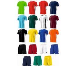 Strój Adidas Entrada 18 Junior - Nadruki! Różne kolory!