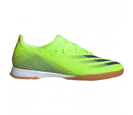 Buty halowe adidas X Ghosted.3 IN zielone EG8207