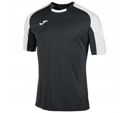 Koszulka Joma Essential Czarno Biała 101105.102