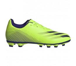 Buty piłkarskie adidas X Ghosted.4 FxG Junior zielone EG8220