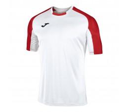 Koszulka Joma Essential Biało Czerwona 101105.206