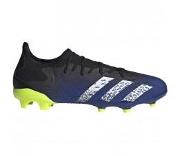 Buty piłkarskie adidas Predator Freak.3 L FG granatowo-czarno-zielone FY0615