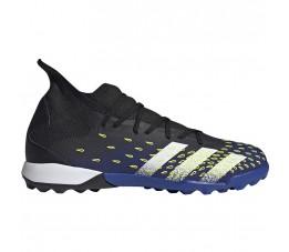 Buty piłkarskie adidas Predator Freak.3 TF czarno-niebieskie FY0623