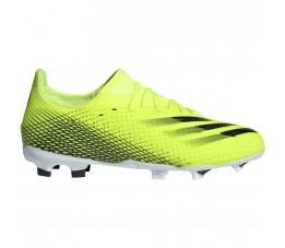 Buty piłkarskie adidas X Ghosted.3 FG Junior żółto-czarne FW6934