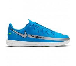 Buty piłkarskie Nike Phantom GT Club IC Jr niebieskie CK8481 400