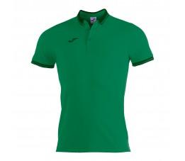 Koszulka męska Joma Bali II Polo Zielona 100748.450