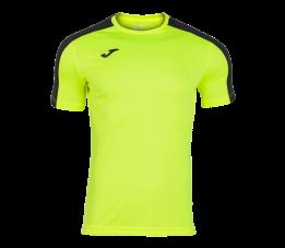 Koszulka Joma Academy Zółty Fluor Czarny 101656.061