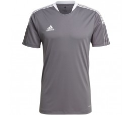 Koszulka męska adidas Tiro 21 Training Jersey szara GM7587