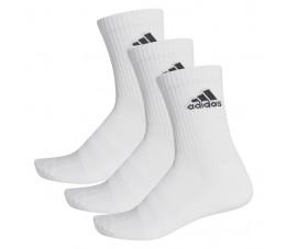 Skarpety adidas Cushioned Crew 3PP białe DZ9356