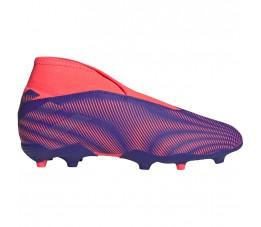 Buty piłkarskie adidas Nemeziz.3 LL FG Junior fioletowo-różowe EH0583