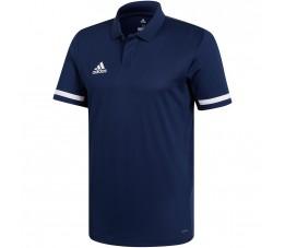 Koszulka męska adidas Team 19 Polo granatowa DY8806