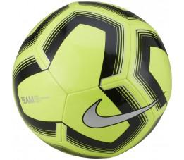 Piłka nożna Nike Pitch Training żółto-czarna SC3893 703