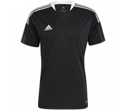 Koszulka męska adidas Tiro 21 Training Jersey czarna GM7586